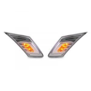 SK-Import Corner Lights LED Black Housing Subaru,Toyota-79204