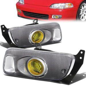 SK-Import Fog Light Yellow Lens Honda Civic-79480