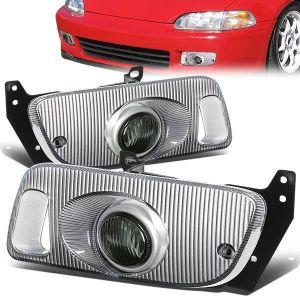 SK-Import Fog Light Smoke Lens Honda Civic-79481