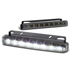 SK-Import Front Fog Light 8 LEDs Smoke Lens-79425