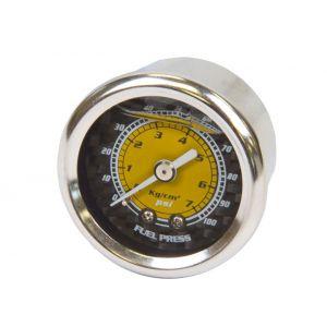 NRG Innovations Fuel Pressure Gauge Carbon-77894