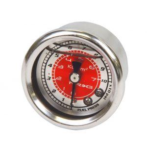 NRG Innovations Fuel Pressure Gauge Red-77896