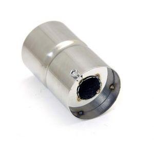 M2 Motorsport Silencer Hornet Style 70mm Stainless Steel-77339