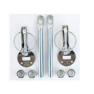 QSP Hood Pins Silver Stainless Steel-53287