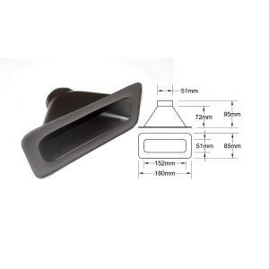 QSP Air Duct Black 51mm-53343
