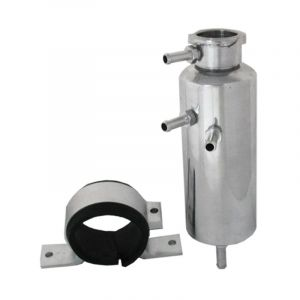 QSP Breather Tank Cooling Water Silver 500ml 60mm Aluminium-53186