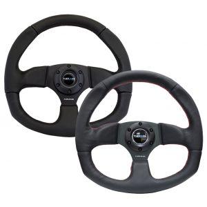 NRG Innovations Steering Wheel 350mm 76mm Leather-62840