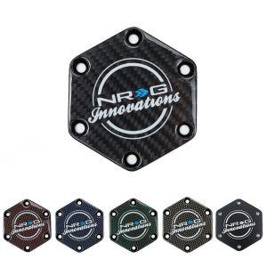 NRG Innovations Horn Delete Plate Aluminum-77545-BK