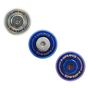 NRG Innovations Washers Set M Style For Plastic Aluminum-77569