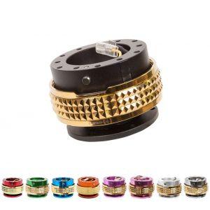 NRG Innovations Snap-Off Studded Ring Aluminum-79675
