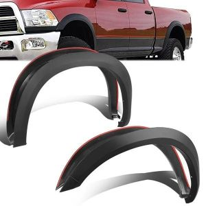 SK-Import Front and Rear Fender Flares OEM Style ABS Plastic Dodge Ram-79476