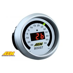 AEM Gauge 52mm Boost Pressure-50074