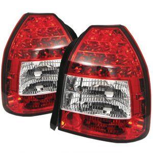 Sonar Tail Light LED Clear Lens Red Lens Honda Civic-40987