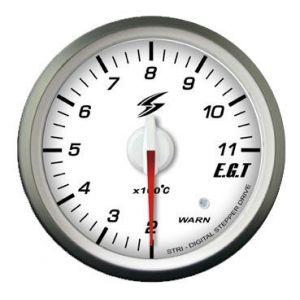 Stri Gauge DSD Club Sport White 52mm Exhaust Gas Temperature-41720