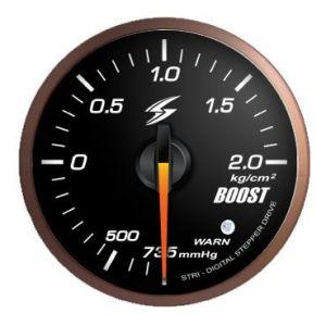 Stri Gauge DSD Club Sport Black 60mm Boost Pressure-41700