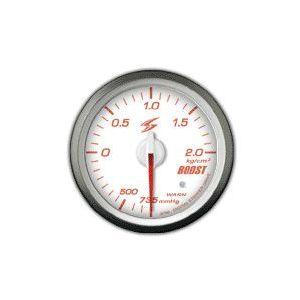 Stri Gauge DSD Club Sport White 60mm Boost Pressure-41717