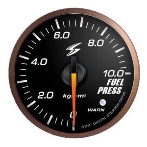 Stri Gauge DSD Club Sport Black 60mm Fuel Pressure-41705