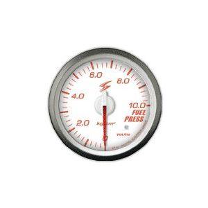 Stri Gauge DSD Club Sport White 60mm Fuel Pressure-41723