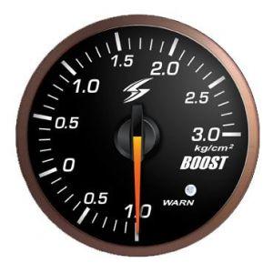 Stri Gauge DSD Club Sport Black 60mm Boost Pressure-41701