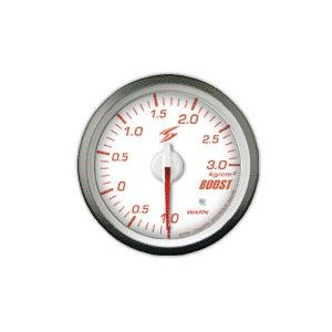 Stri Gauge DSD Club Sport White 60mm Boost Pressure-41719