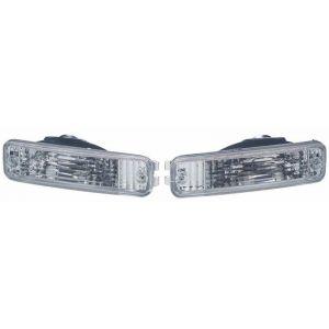 SK-Import Indicator Light Chrome Housing Clear Lens Honda Civic,CRX,Shuttle Pre Facelift-51730