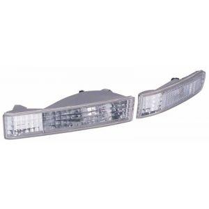 SK-Import Indicator Light Chrome Housing Clear Lens Honda Prelude-51737
