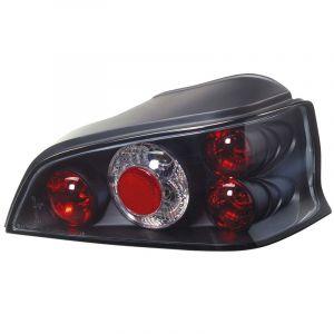 SK-Import Tail Lights Black Peugeot 106-79110