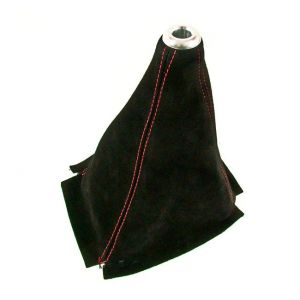 D1 Spec Shift Boot Red Stitching Black Suede-46787