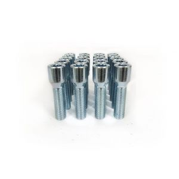SK-Import Wheel Bolts Long Star Silver Steel M12x1.25-60537