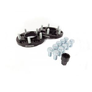 JR-Wheels Wheel Spacers JRWA1 Black Aluminium-64410