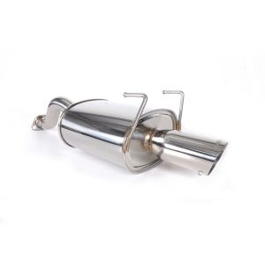 SRS Rear Muffler G35 Conical Flange 61mm Stainless Steel Honda Civic,Del Sol-55686