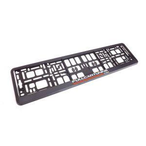 Fullcartuning Licence Plate Holder Fullcartuning Black-47226