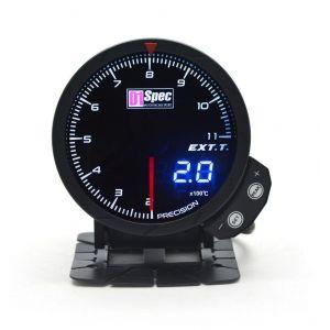 D1 Spec Gauge Version 3 Black 60mm Exhaust Gas Temperature-62411