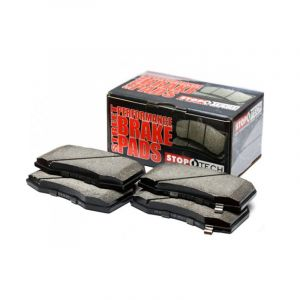 StopTech Front Brake Pads Street Performance Honda Civic,Del Sol-66397