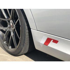 JR-Wheels Sticker Full Color Red White-55704-KL