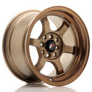 JR-Wheels JR12 Wheels 15 Inch 8.5J ET13 4x100,4x114.3 Dark Anodize Bronze-55696-4
