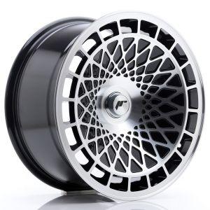 JR-Wheels JR14 Wheels 17 Inch 8.5J ET15 Custom PCD Gloss Black Machined-57894