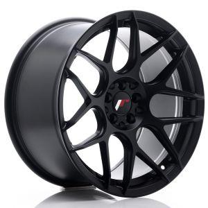 JR-Wheels JR18 Wheels 18 Inch 9.5J ET22 5x114.3,5x120 Flat Black-56462-12