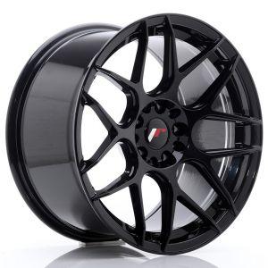 JR-Wheels JR18 Wheels 18 Inch 9.5J ET22 5x114.3,5x120 Gloss Black-76596