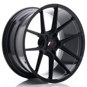 JR-Wheels JR30 Wheels 20 Inch 10J ET20-40 Custom PCD Gloss Black-76577