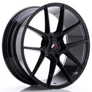 JR-Wheels JR30 Wheels 20 Inch 8.5J ET40-42 Custom PCD Gloss Black-76579