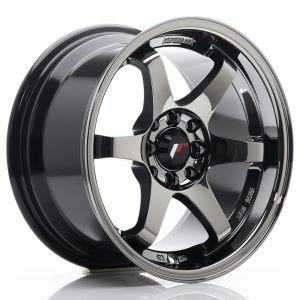 JR-Wheels JR3 Wheels 15 Inch 8J ET25 4x100,4x108 Black Chrome-56148