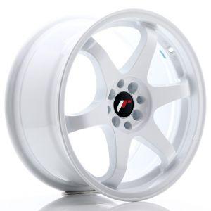 JR-Wheels JR3 Wheels 17 Inch 8J ET35 5x114.3,5x120 White-47160-24