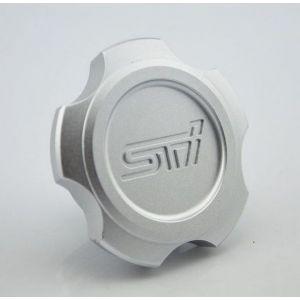D1 Spec Engine Oil Cap Silver Aluminium Subaru-56143