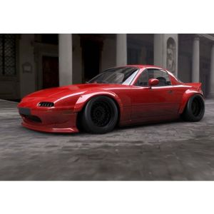 SK-Import Wide body Kit Drift Style Fiberglass Mazda MX-5-67422