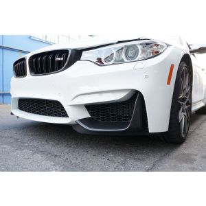 Full Carbon Front Bumper Splitters MP Style Carbon BMW 3-serie,4-serie-64243