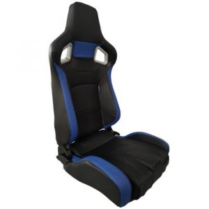 SK-Import Seat RS6 II Adjustable Black - Blue-41115