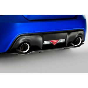 SK-Import Rear Diffuser Black ABS Plastic Subaru,Toyota Pre Facelift-55622