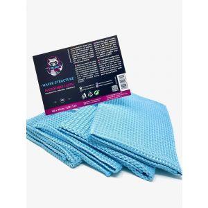 Racoon Wafer Microfibre Cloth Blue Microfiber-77452